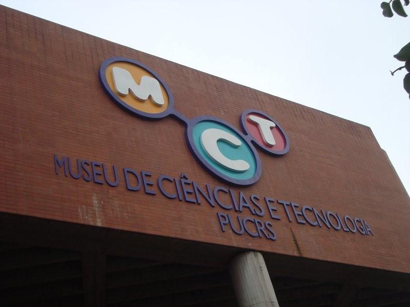 Museu de Ciências e Tecnologia da PUCRS em Porto Alegre